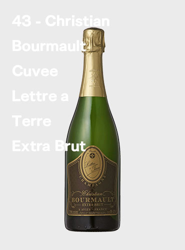 43 - Christian Bourmault Cuvee Lettre a Terre Extra Brut