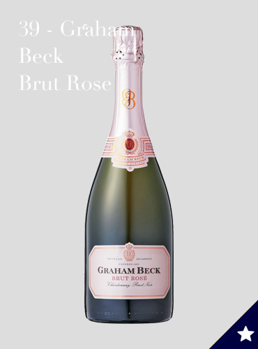 39 - Graham Beck Brut Rose