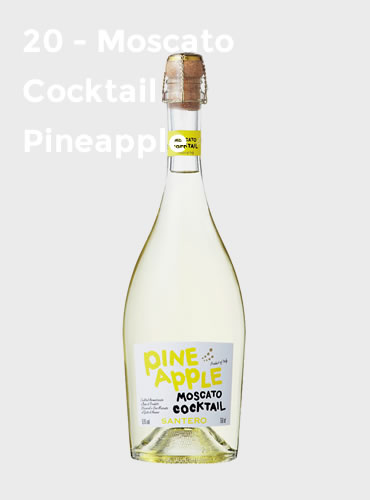 20 - Moscato Cocktail Pineapple