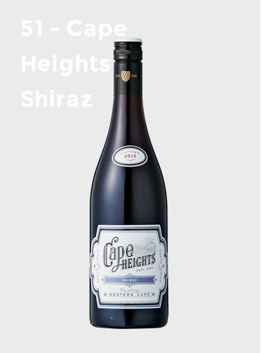 51 - Cape Heights Shiraz