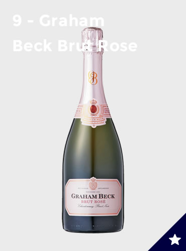 9 - Graham Beck Brut Rose